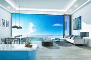 Evadeaza din cotidian intr-un apartament nou la mare